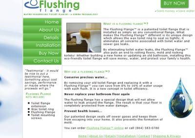 Flushing Flange
