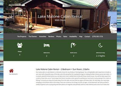 Lake Malone Cabin Rental